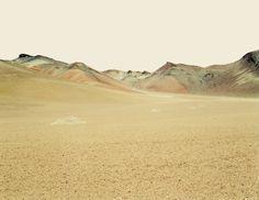 Untitled Desert XI, Bolivia - Nadav Kander