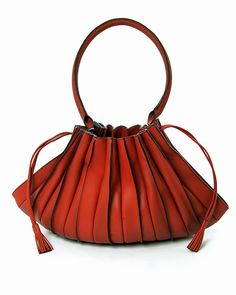 Lupo Abanico Shoulderbag In Rubi 375 From Myviolethill New Handbags