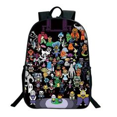 f1ddadb6f7 2018 Anime Undertale Backpack For Teenage Girls Boys Sans Printing Bag Women  Mochila Men Travel Bag Children School Backpacks
