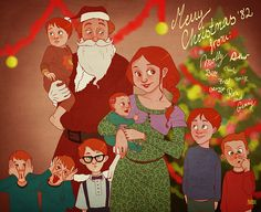 HP: Weasley Christmas by ~Loleia on deviantART