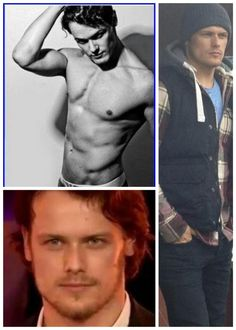Sam Heughan--lest we forget what he looks like..as if. #SamHeughan #Outlander #Starz