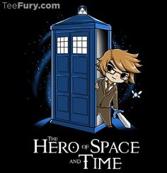 HERO OF SPACE AND TIME THE LEGEND OF ZELDA LINK DOCTOR WHO TEEFURY WOMENS SHIRT  #TeeFury #GraphicTee