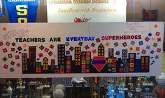Superhero themed teacher appreciation week?