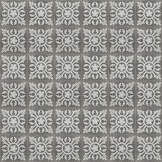 grey mandala repro -  tiles Handmade tiles can be colour coordinated and customized re. shape, texture, pattern, etc. by ceramic design studios