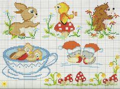 Extrêmement www.it gallery var albums schemi-punto-croce bambini Beaded Cross Stitch, Cross Stitch Charts, Cross Stitch Designs, Cross Stitch Patterns, Cross Stitch For Kids, Cross Stitch Animals, Cross Stitch Baby Blanket, Embroidery Patterns, Hand Embroidery