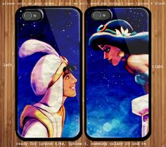 Aladdin and Princess Jasmine Couple case for iphone and samsung