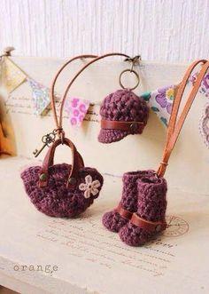 Miniaturas em crochet