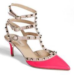 Valentino Rockstud Pink Fluo