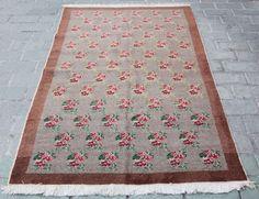 Tribal Flower carpet,Turkish Carpet,Decorative rug,Unique rugs,Home carpets,rugs #Tribal
