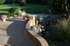 Brick Paver Patio in St. Charles, IL Sealed by Paver Protector Inc.