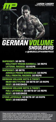 German Volume Shoulders