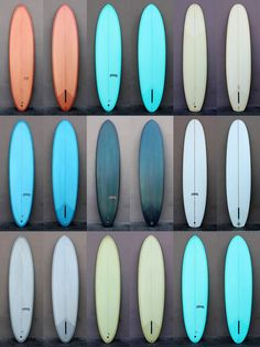 Boards, boards, boards! Fineline surfboards via Mollusk Surf Shop in San Francisco and Venice Beach.