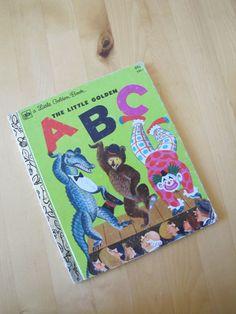 A Little Golden Book  The Little Golden ABC by TheBigBlueMarble
