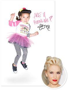 Gwen Stefani, Harajuku Mini mashup collection hits Target shelves July 8th
