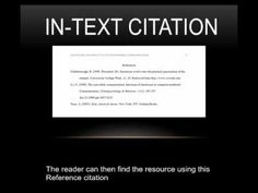 apa format for in text citation