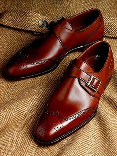 Crockett & Jones Single Monk Strap