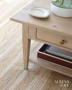 The natural wooden frame of this double decker coffee table creates a coastal feel that looks gorgeous in any living room. Coastal Decor, Rustic Decor, Farmhouse Decor, Living Room Furniture, Living Room Decor, Coastal Living Rooms, Beach House Decor, Home Decor, Home Rugs