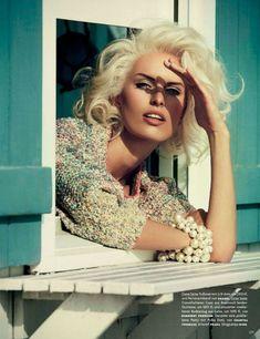Karolina Kurkova - Vogue Germany April 2013 Issue - Fashion Diva Design