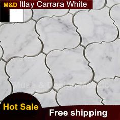 Find More Mosaics Information about Lantern shaped Carrara White Marble mosaic tiles_ backsplash kitchen wall tile sticker bathroom floor tiles,High Quality tile balcony,China tile black Suppliers, Cheap sticker from Muse & Design Mosaic on Aliexpress.com