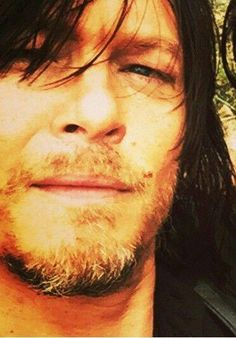 Close up Norman Reedus