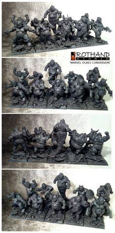 Rothand Studio: Marvel Ogres conversion