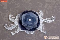 Ретро-брошь «Мистическая роза» | Уроки творчества | Леонардо хобби-гипермаркет - сделай своими руками