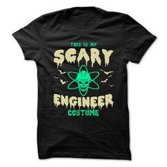 (Tshirt Fashion) SCARY NUCLEAR ENGINEER [Teeshirt 2016] Hoodies Tee Shirts
