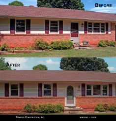 Rempfer Construction, Inc. Windows Before & After Garage Doors, Construction, Windows, Outdoor Decor, Home Decor, Building, Decoration Home, Room Decor, Home Interior Design