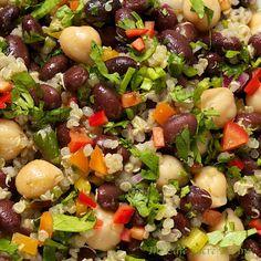 The Café Sucré Farine: Black Bean & Quina Salad w/ Lemon-Cumin Vinaigrette omit legumes
