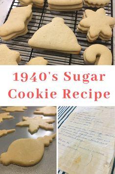 Sugar Cookie Recipe With Shortening, Sugar Cookie Cutout Recipe, Roll Out Sugar Cookies, Cut Out Cookie Recipe, Cut Out Cookies, Easy Cookie Recipes, Sugar Cookies Recipe, Baking Cookies, Christmas Baking