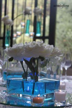 Decoración centros de mesa.# bodas