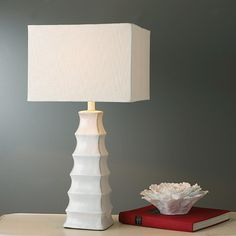 Stylized Pagoda Table Lamp