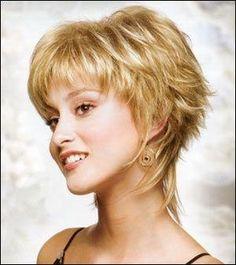 Cortes de cabelo shaggy para mulheres sobre 40 | Pin curto Shaggy penteados para as mulheres 2011 no Pinterest por Eva