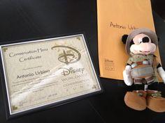 Antonio Urbina, reconocido a nivel mundial por fundación Disney