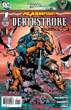 Flashpoint: Deathstroke and the Curse of the Ravager Vol 1 1 | DC Database | Fandom