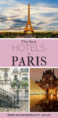 Paris has some of the most incredible hotels in the World. With thousands to choose from, the best hotels in Paris are often difficult to find. To help you plan for your vacation, I have created this list with the best hotels in Paris suitable for all bud Hotel Paris, Paris Paris, Hotels In Paris, Ways To Travel, Places To Travel, Travel Destinations, Travel Jobs, Paris Travel, France Travel