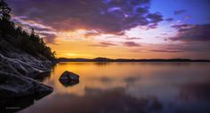 Sunset in Parainen, Finland by Risto Vähämäki, 500px