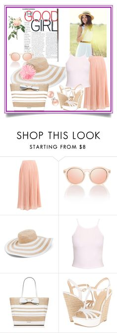 the good girl by catrina-lang on Polyvore featuring New Look, Jessica Simpson, Kate Spade, Bling Jewelry and Vera Bradley