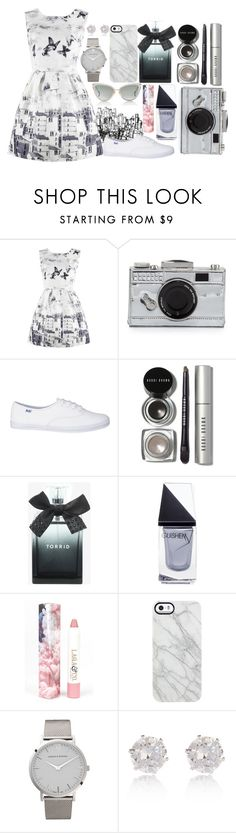 """Are You Who I Dreamed? Or Just a Memory."" by el1922032399 ❤ liked on Polyvore featuring Kate Spade, Bobbi Brown Cosmetics, Torrid, GUiSHEM, LAQA & Co., Uncommon, Larsson & Jennings, River Island and Dita"