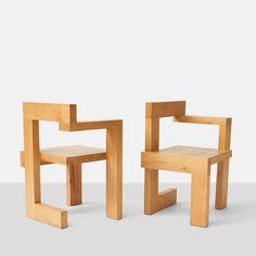 Gerrit Rietveld Steltman Chairs 2