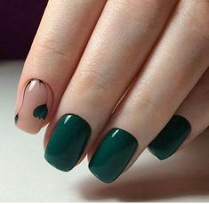76 nail art designs that are so perfect for summer 13 Hot Nails, Hair And Nails, Gorgeous Nails, Pretty Nails, Pink Nail Colors, Gelish Nails, Shellac, Manicure E Pedicure, Green Nails