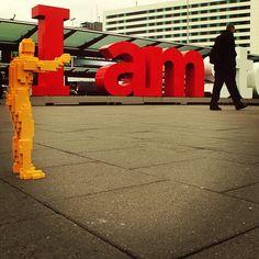 The whole week off! Finally time to explore Amsterdam. #hugmaninholland #theartofthebrick