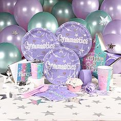 gymnastic party decoration | Gymnastics Party Ideas and Supplies