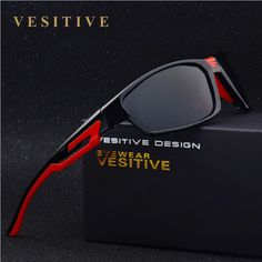 7d24e538ed VESITIVE Hot Sale Polarized Sunglasses Men 2017 Sport Sun Glasses For Driving  Fishing Golfing Gafas De Sol Hipster Essential balikcilik lake fishing   Bu  ...