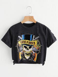Guns N' Roses t-shirt donna  per info e ordini whatsapp +393932636217