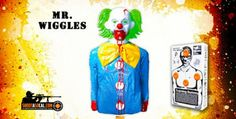 Blow up Mr. Wiggles clown, filled with explosives!