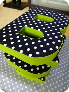 1000+ images about Fabric Covered Letters on Pinterest | Fabric ...