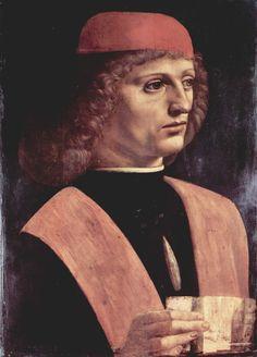 Leonardo Da Vinci Retrato de un músico