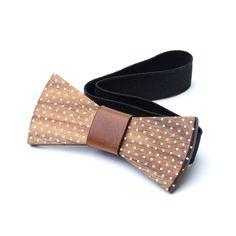 Personalised Wood Bow Tie