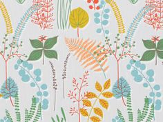 Scandinavian Fabric Scandinavian Textile by OurGreenRoomDesign